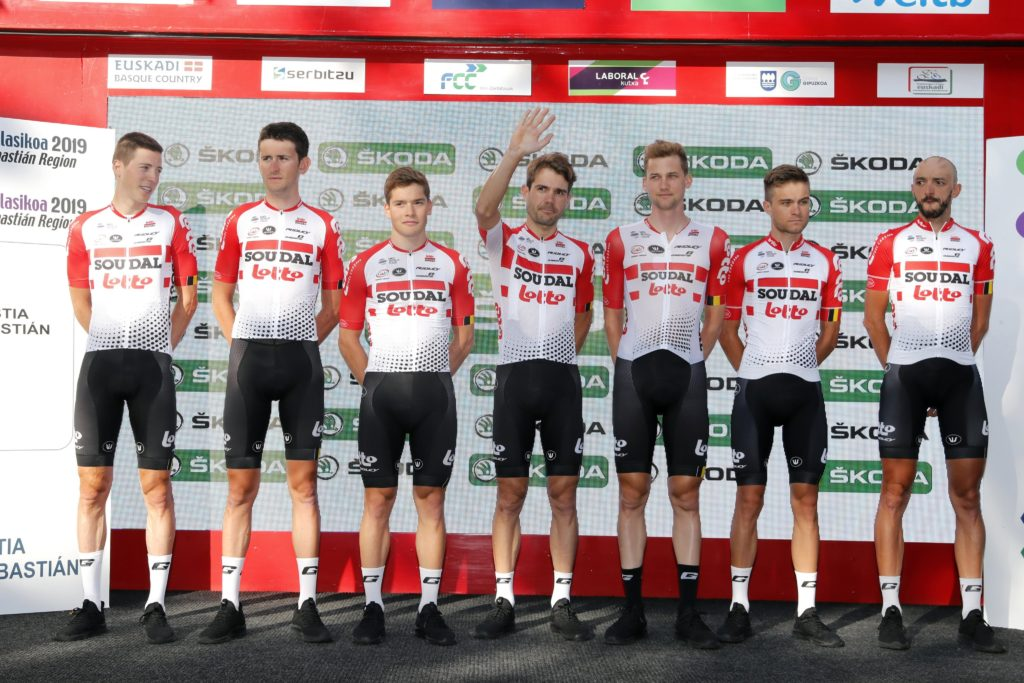 © Photo Gomez Sport (Twitter Lotto Soudal)